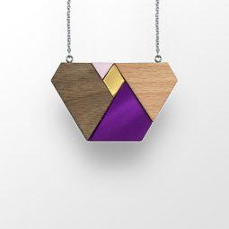 sui_wood_beech-acrylic_necklace_traingle_silver-chain_2